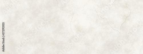 Fotografie, Obraz Old white cracked marble background illustration  in light pale brown or beige g