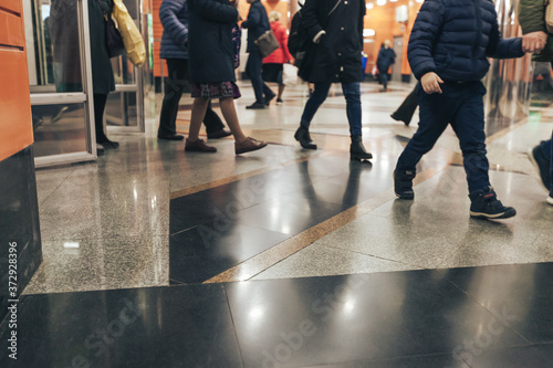 Fotografie, Obraz Subway Station Begovaya in Saint Petersburg in Russia