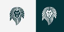 Head Angry, Roar Lion. King Li...