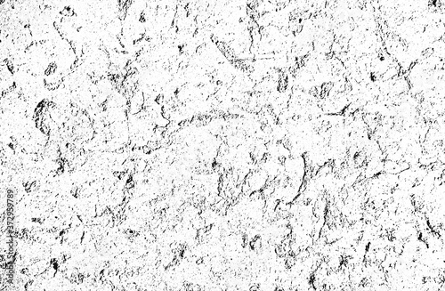 Fotomural Distress old cracked concrete vector texture