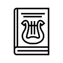 Folklore Genre Line Icon Vector. Folklore Genre Sign. Isolated Contour Symbol Black Illustration