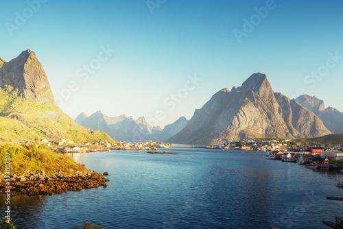 Photographie Reine Village, Lofoten Islands, Norway
