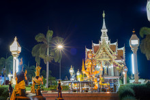 Thai Giant Statue In Front Of ...