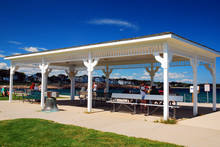 A Pavillion Offers Shade For T...