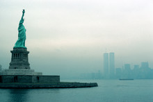 Statue Of Liberty With The Twi...