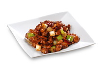 Close Up Of One Of The Most Popular Chinese Sichuan Province Cuisine Kung Pao Chicken  (Chinese: Gongbaojiding)
