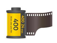 Camera Photo Film Container