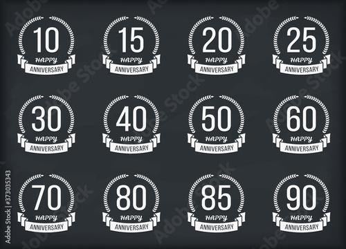 Photo Anniversary Emblems