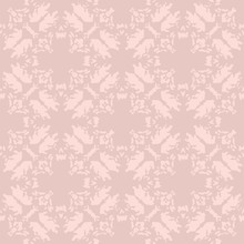 Pink Distressed Quatrefoil Sea...
