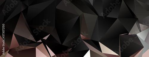 Obraz na plátně abstract background. Design wallpaper. Triangular 3d texture
