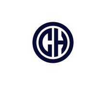 CH HC LETTER LOGO DESIGN VECTOR TEMPLATE. CH HC Minimalist, Creative, Unique, Simple, Flat, Modern Logo Design.