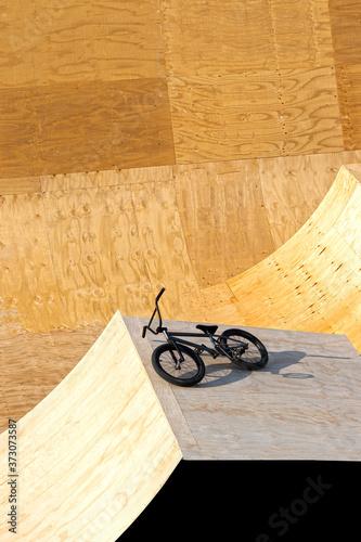 Tela pista de madera para bmx