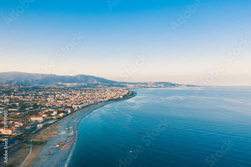 Fotografiet Città di Siderno, aerea