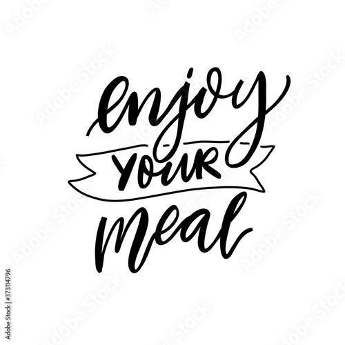 Fotografie, Obraz Enjoy your meal