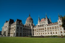 Back Of Hungarian Parliament B...