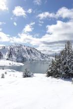 Sunshine Meadows In Winter - B...