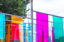 Colored Glass Panels, Decorati...