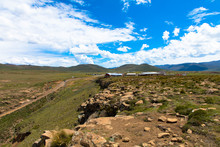 The Magnificent Landscape Of The Drakensberg Mountains In KwaZulu Natal, South Africa