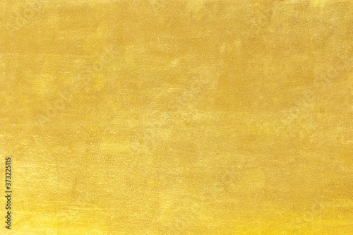 Slika na platnu Gold abstract background or texture and gradients shadow