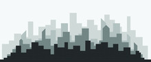Abstract Futuristic City Sky W...