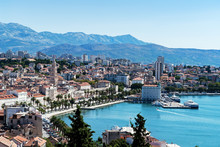 Seafront View On Split City - ...