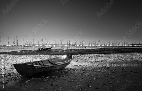 Barque du Cap Ferret Canvas Print