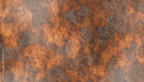 Fototapeta coroded rusty metal
