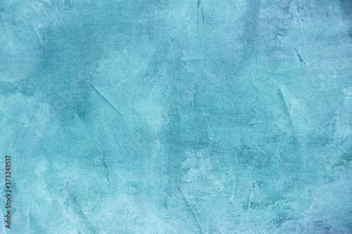 Blue grungy background Canvas Print