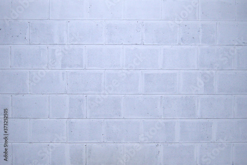 Beton wall. Brick wall. White and gray texture.  Background.