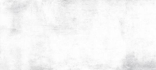 Wide image, White cement or concrete wall texture for background, Empty space