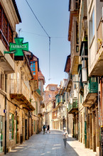 Pontevedra Landmarks, Galicia,...