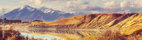 Autumn in New Zealand Fototapet