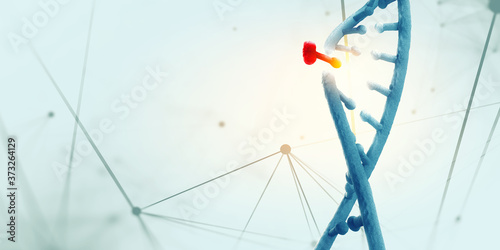Photo Innovative DNA technologies in science and medicine