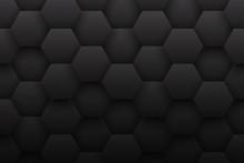 Tech 3D Hexagonal Structure Pa...