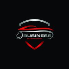Car Auto Shield Dealership Creative Modern Logo