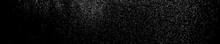 White Grainy Texture On Black....