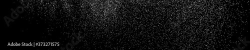 Fotografie, Obraz White Grainy Texture On Black