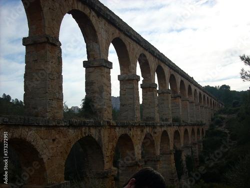 Fototapeta roman aqueduct pont du gard