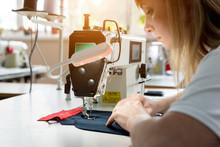 Designer Tailor Sew The Dress....