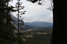 View From Tunnel Mountain Trai...