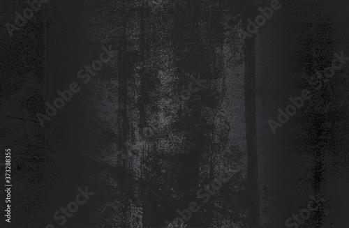 Fotografija Luxury black metal gradient background with distressed metal plate texture