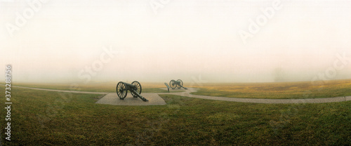 CANNON EMPLACEMENT, GETTYSBURG Wallpaper Mural