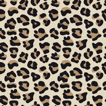 Leopard Skin Seamless Vector P...