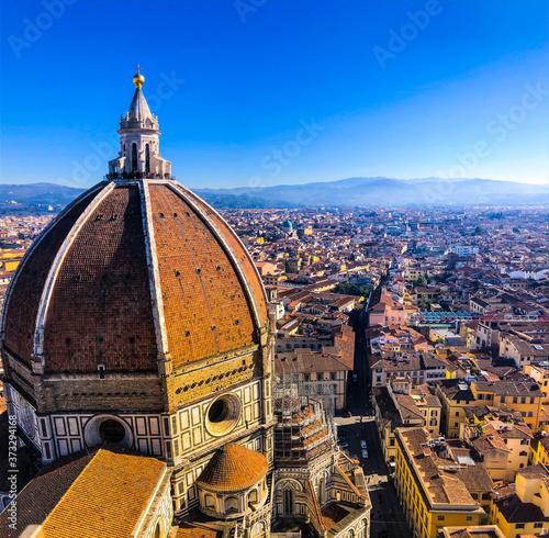 Photo toits de Florence