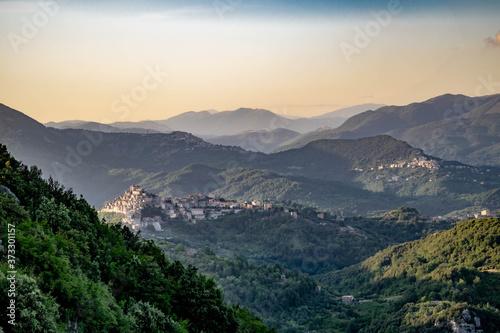 Fotografie, Obraz Panoramica monti Prenestini - Tiburtini