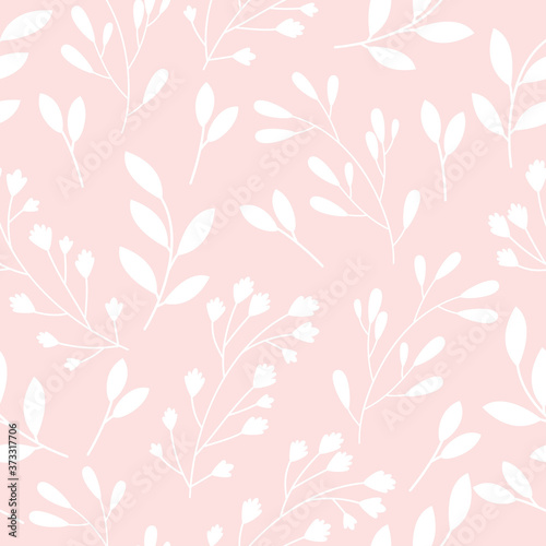 Tapeta różowa  seamless-pattern-with-flowers-on-pink-background