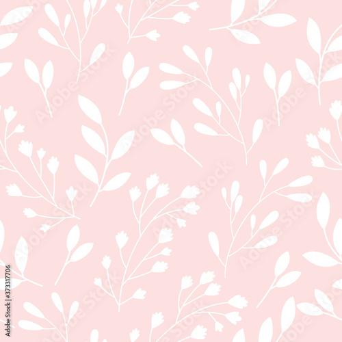 Tapeta różowa  wzor-z-kwiatami-na-rozowym-tle