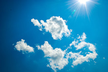 Sunshine Filled Cloud Scattere...