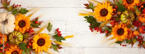 Foto Concept of fall harvest or Thanksgiving day