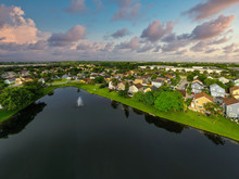 Aerial Photo Of Residential Ho...